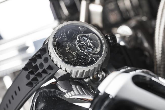 Bomberg and Rick De La Croix beating the odds and present the Arresting New Skull Rider Collection